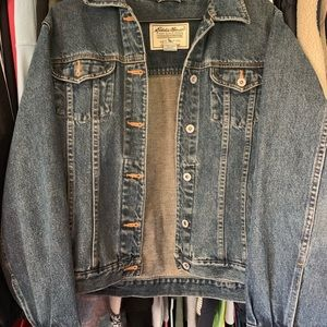 Eddie Bauer premium denim jacket